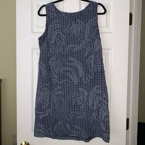 Amy Matto blue shift dress